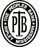 The Peoples Bank of Ripley logo